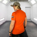 A CLEAN Logo T-Shirt orange - Zeige Logo: Supporte mit dem CLEAN LOGO T-Shirt ?  M