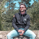 The HOODIE BASIC-black M