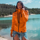 BASIC Sweatshirtjacke unisex - orange S